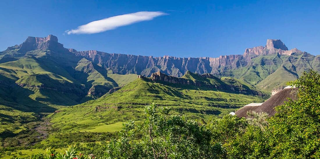 Drakensberg Mountains. The Big Guide to South Africa