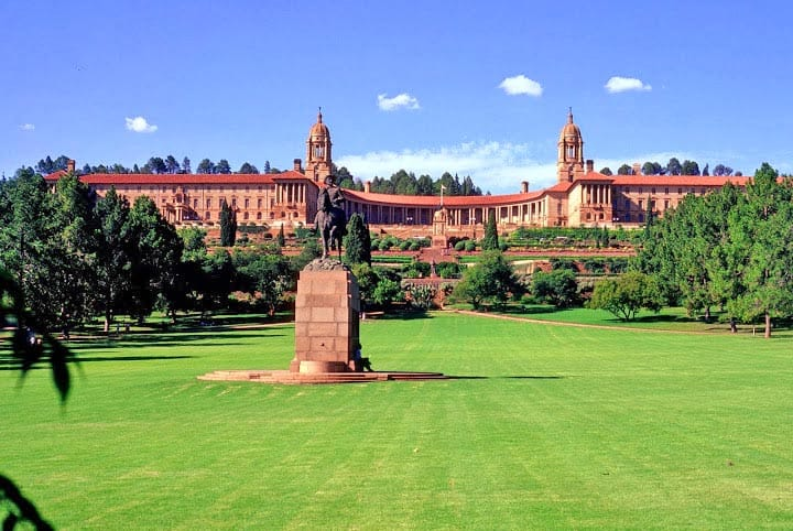 Pretoria-union-buildings, south africa