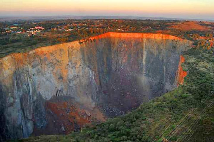 cullinan diamond mine, south africa