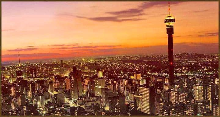 johannesburg views, south africa