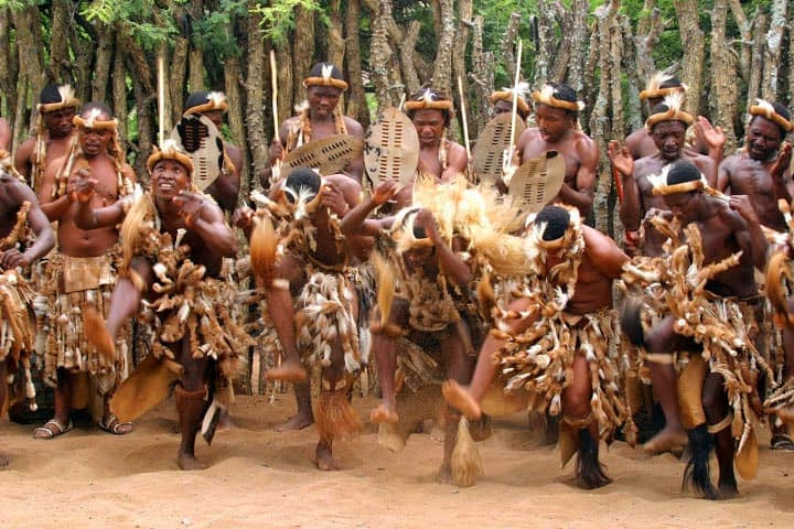 zulu-dancing, Shakaland, south africa