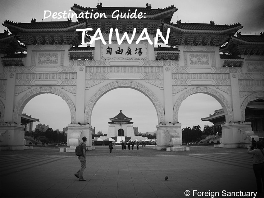 destination Guide Taiwan