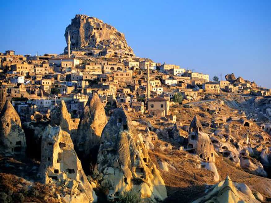 cappadocia-tuff-hills-and-cave-dwellings, turkey