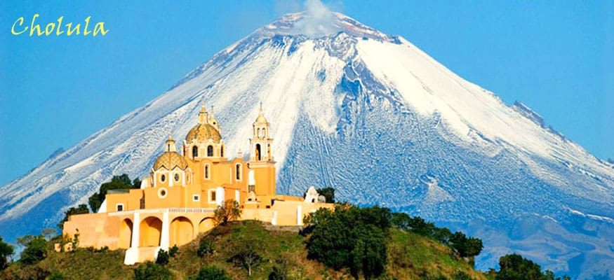 cholula, Mexico header