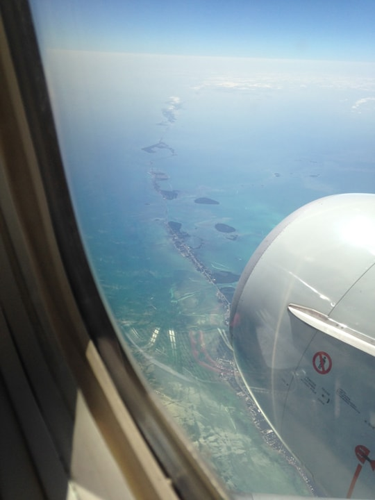 Florida keys from the air