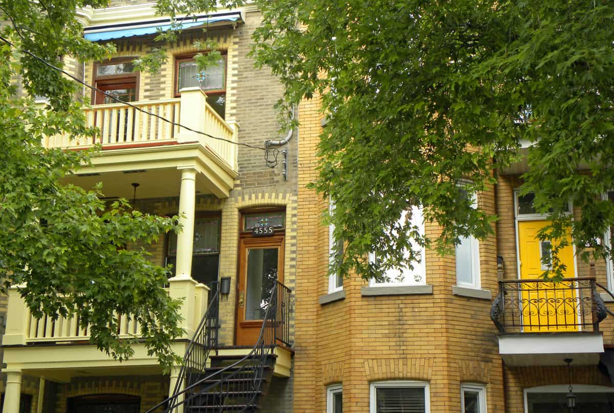 Fabre street. BBQboy's Walking tour of Montreal's Plateau Mont-Royal