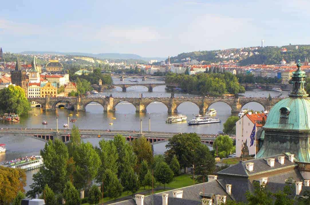 Prague's most scenic walk featuring the city's best views
