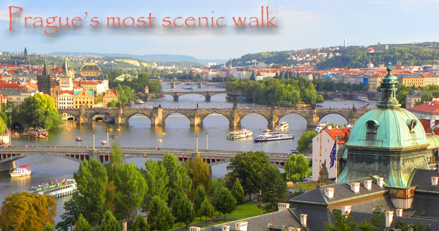 Prague's most scenic walk, header