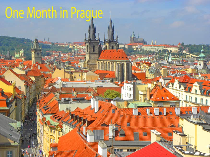 one month in prague header