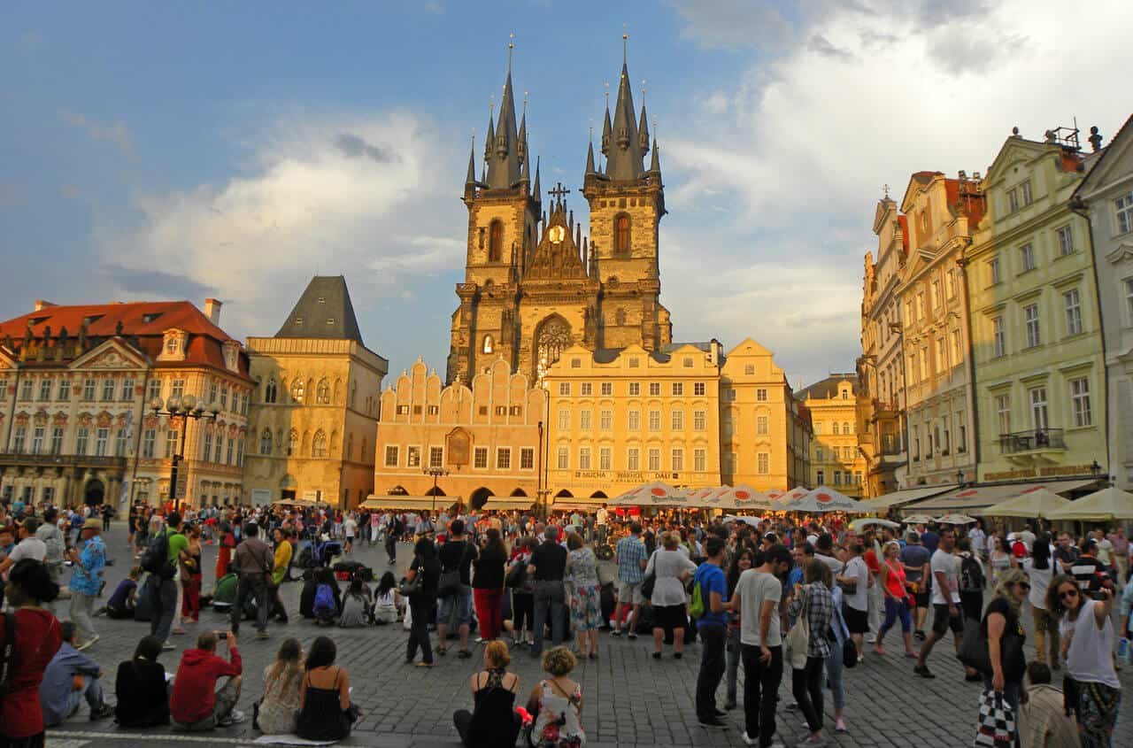 Old Town Square in Prague. 50 Things to do in Prague