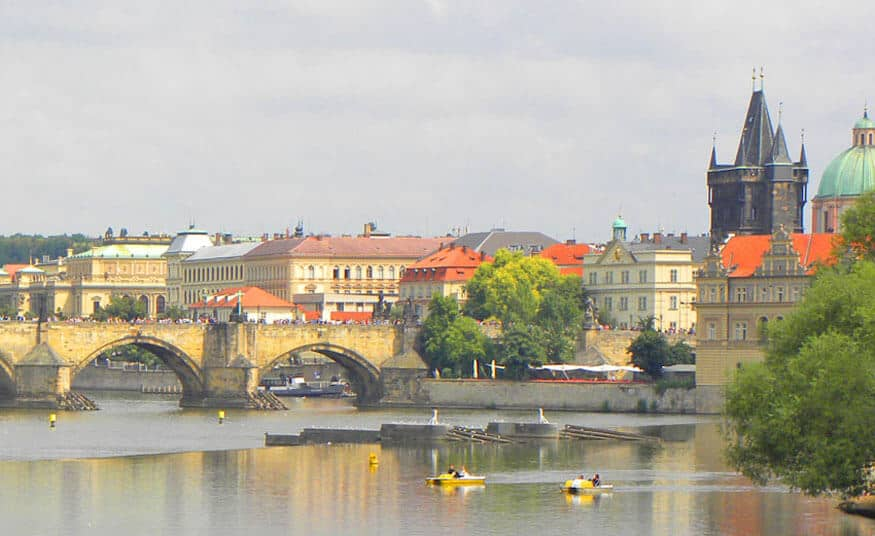 rent a boat in Prague. 50 Things to Do in Prague