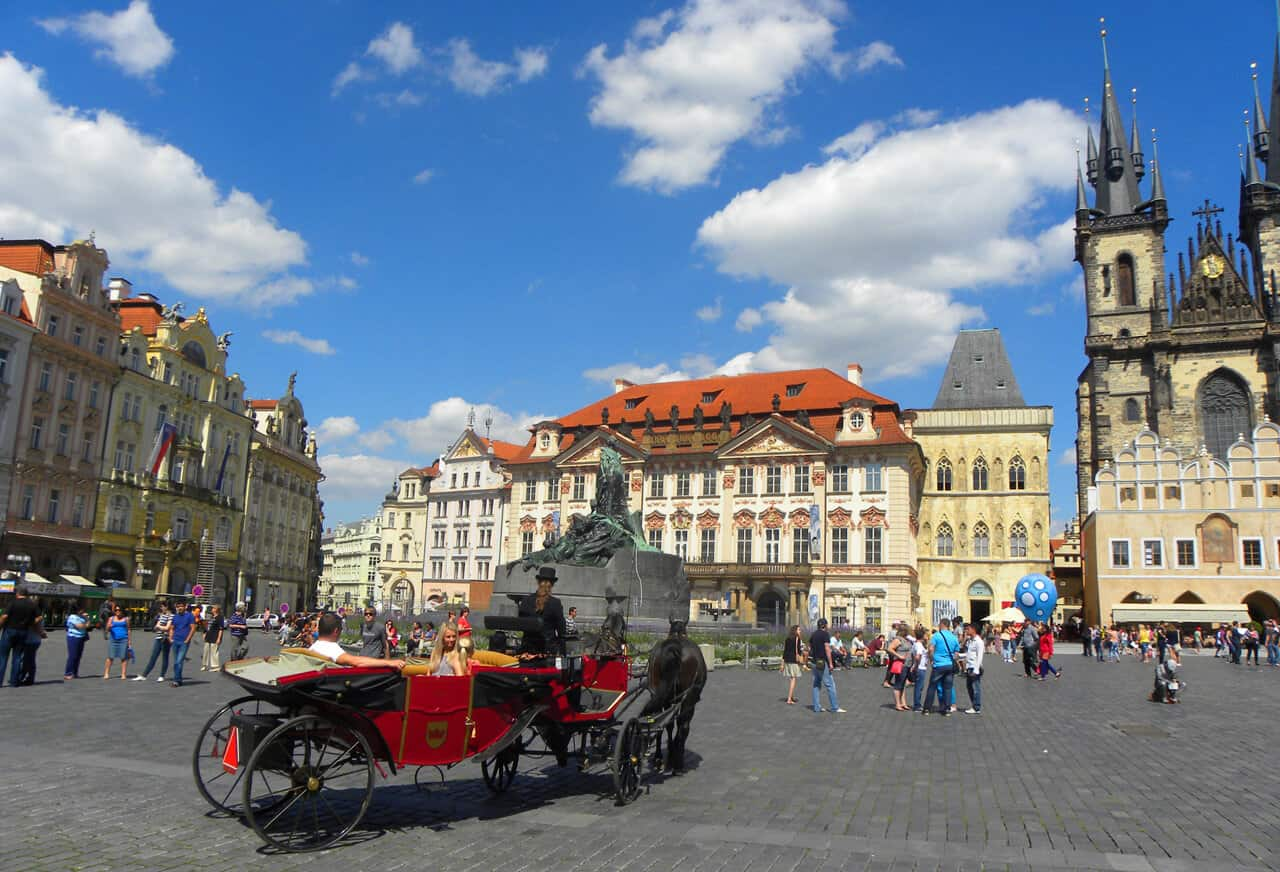 Take a Horse and carriage tour in Prague