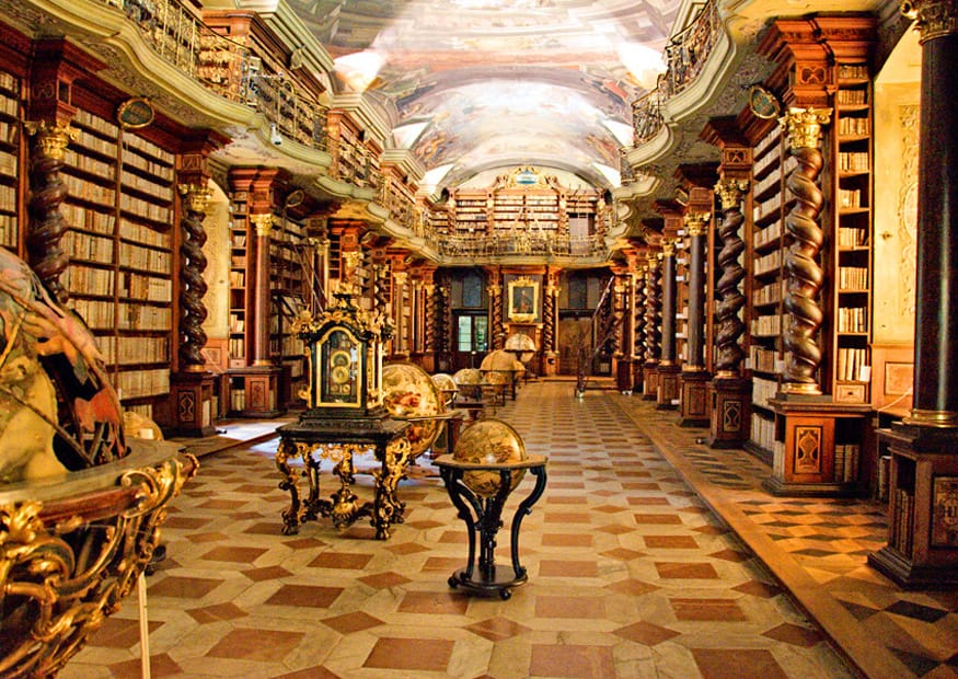 Clementinum Library, Prague