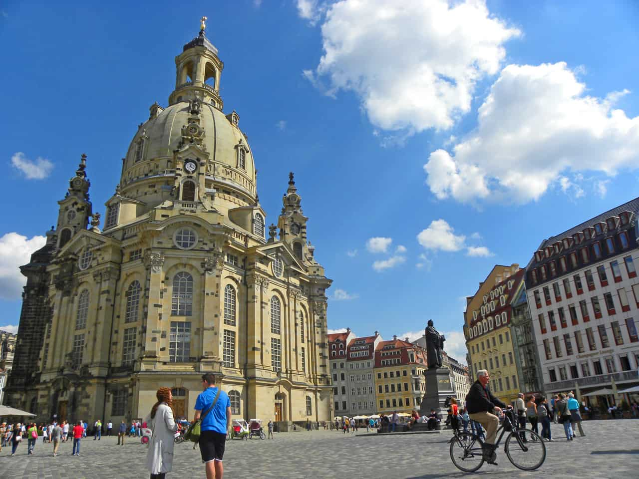Frauenkirche in Dresden. 10 things to see and do in Dresden