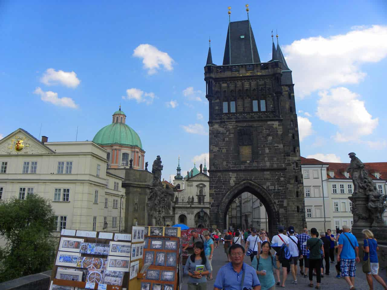 The Old Town Bridge Tower. The Best Towers in Prague