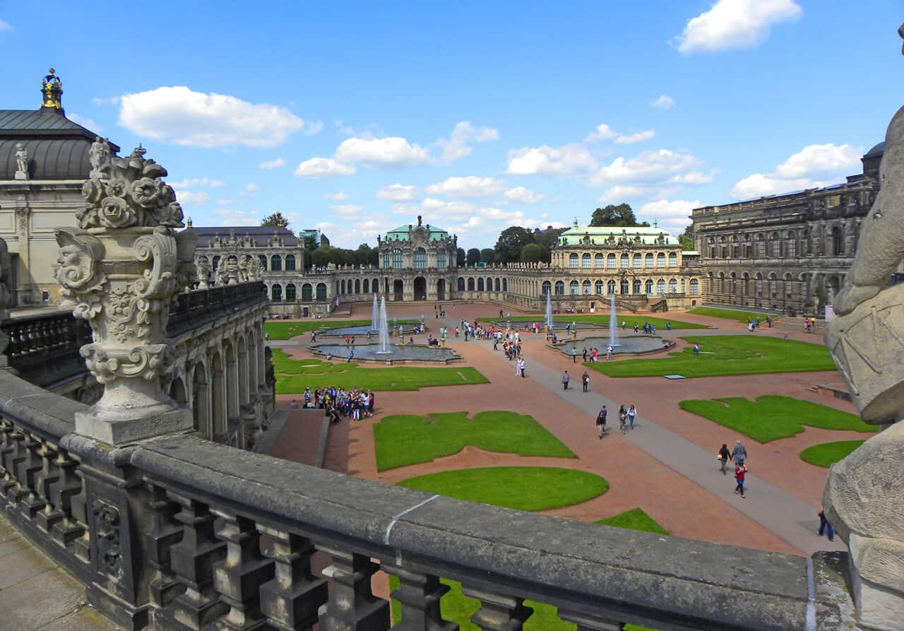 Zwinger Palace. 10 things to see and do in Dresden