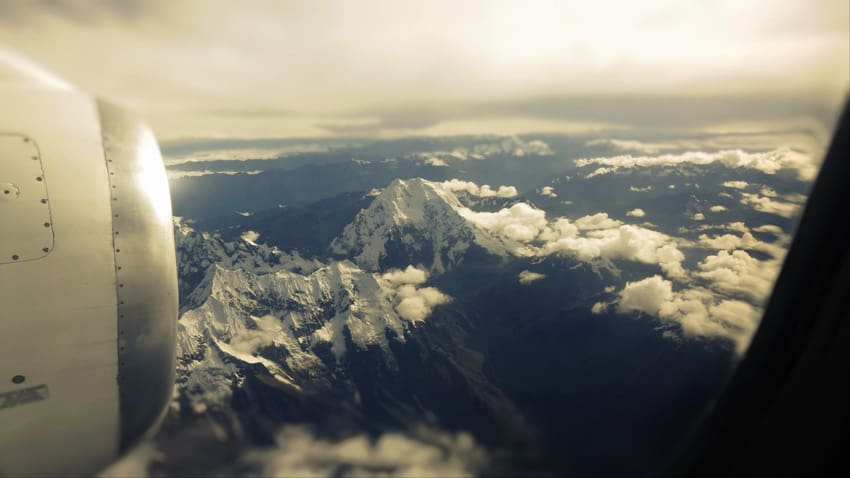Peruvian Andes. 20 Views from a Plane Window