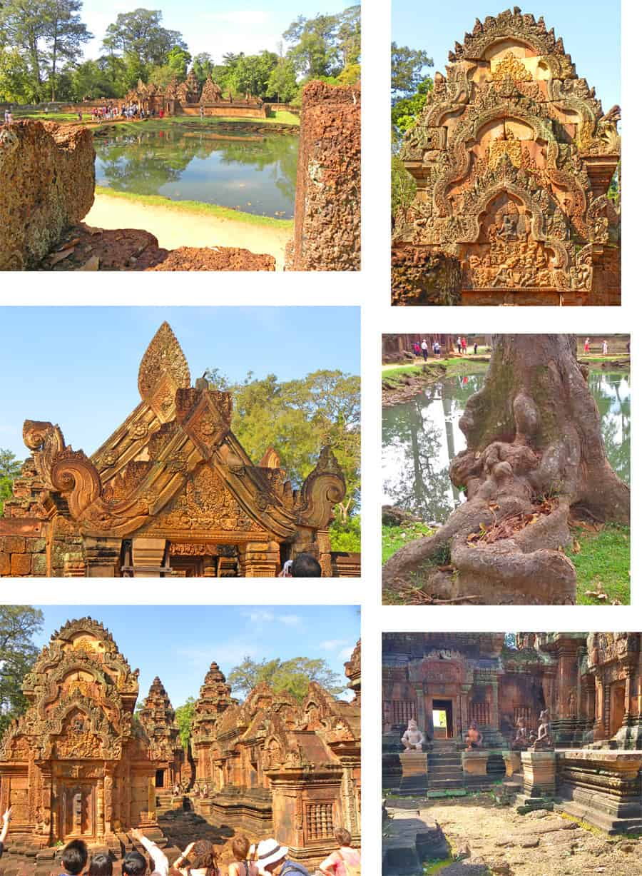 banteay-srei, angkor temple, cambodia. 10 Temples you have to see in Angkor Archaeological Park