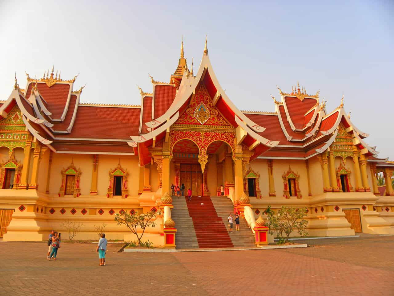 Pha That Luang. Why Vientiane is worth a visit