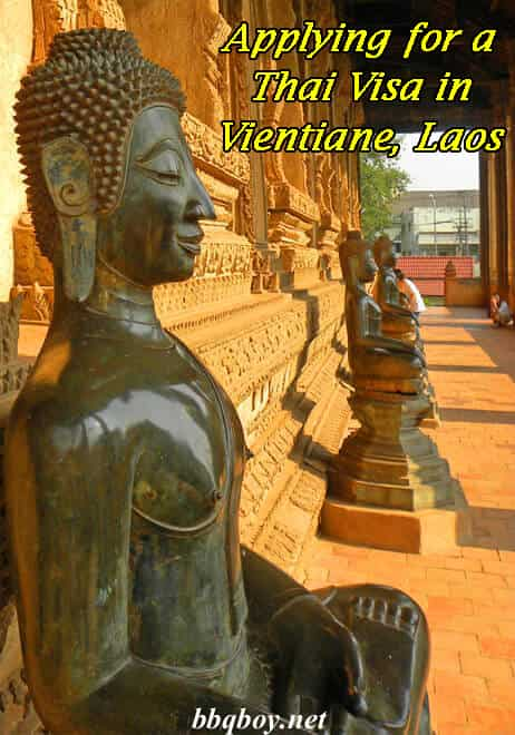 What you can expect applying for a Thai Visa in Vientiane