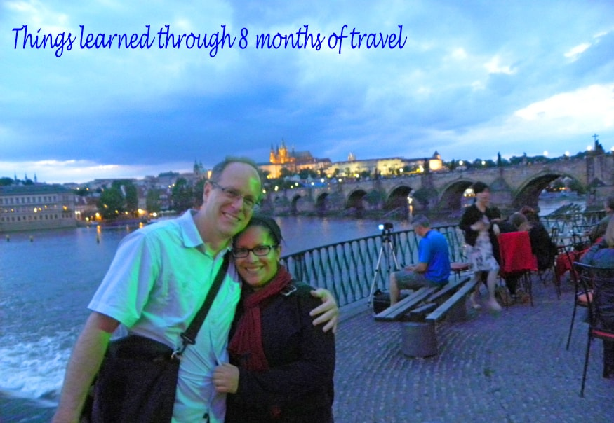 Things learned through 8 months of travel