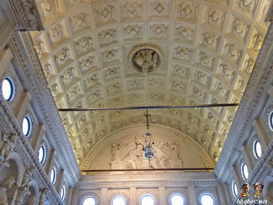 Ceiling of St. Lawrence Cathedral, Trogir