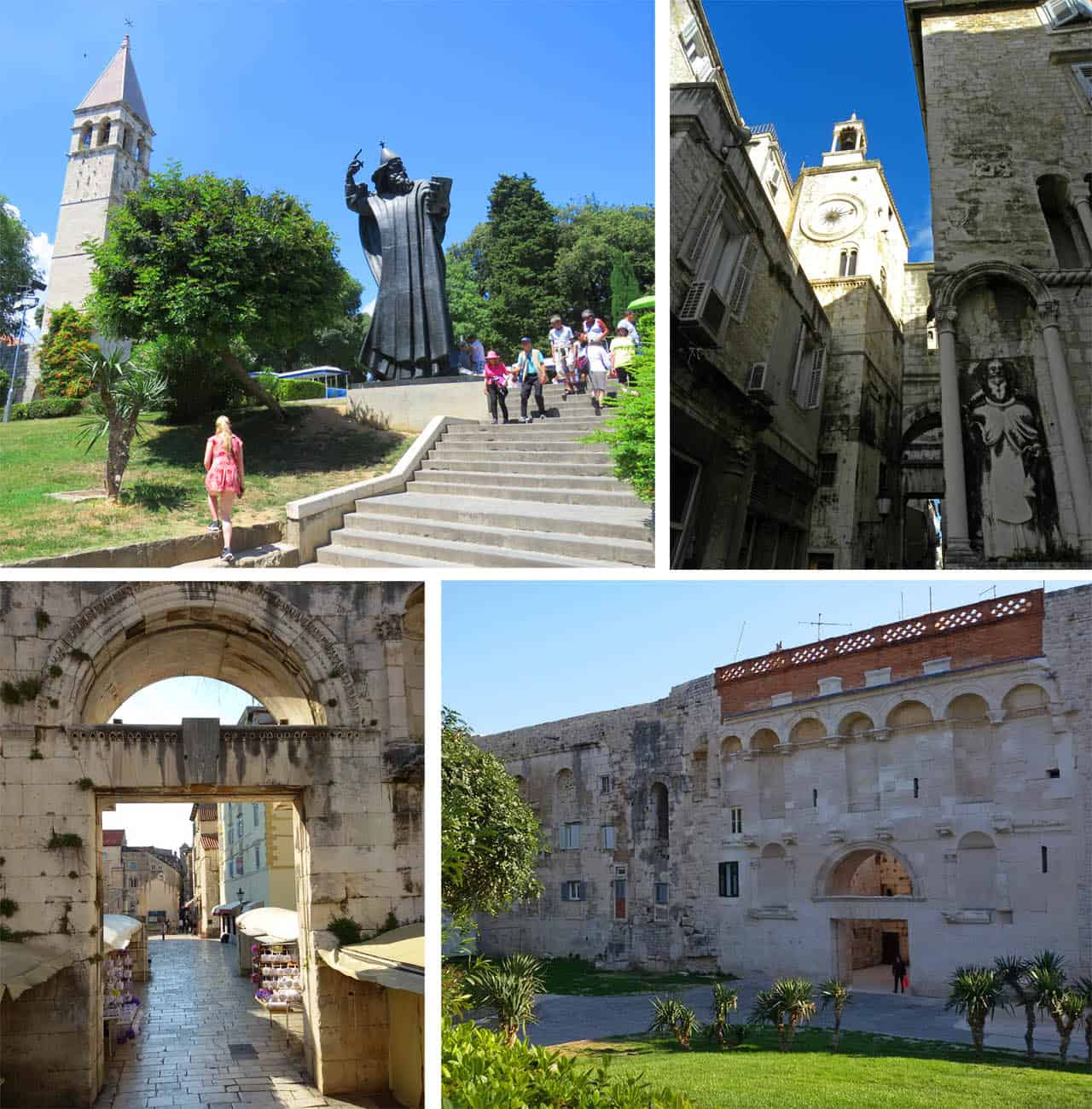 The Highlights of a Visit to Diocletian's Palace. Split, Croatia