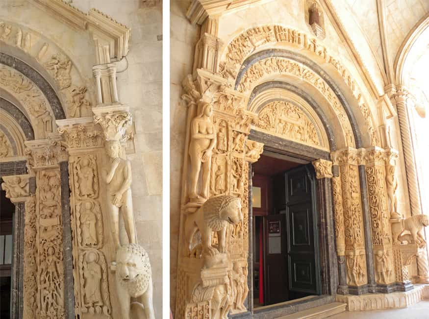 St. Lawrence cathedral. A day trip to Trogir