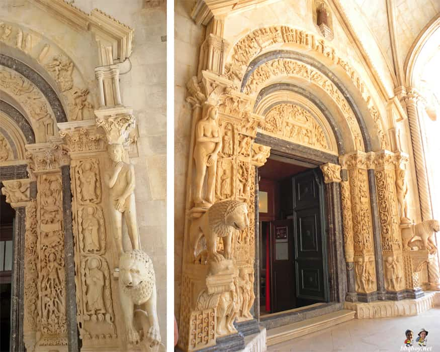 Radovan's portal at St. Lawrence Cathedral, Trogir