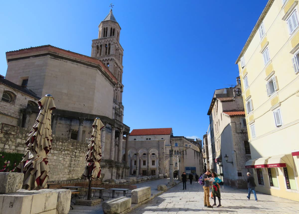 The Highlights of a Visit to Diocletian's Palace – Split, Croatia