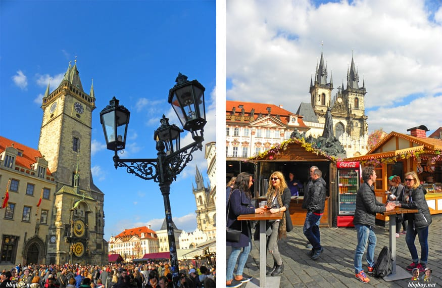 easter views in Prague