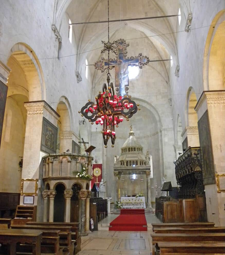 St. Lawrence cathedral. Trogir
