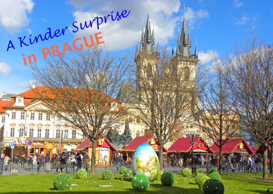 kinder surprise in Prague header