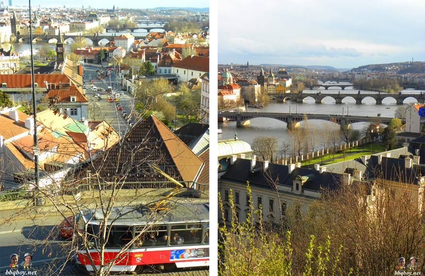 prague scenic walk views