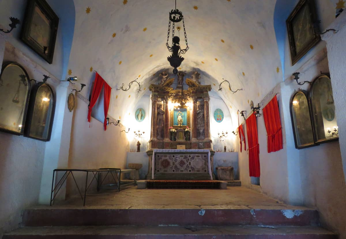 Catholic church of Our Lady of Health, Kotor, Montenegro