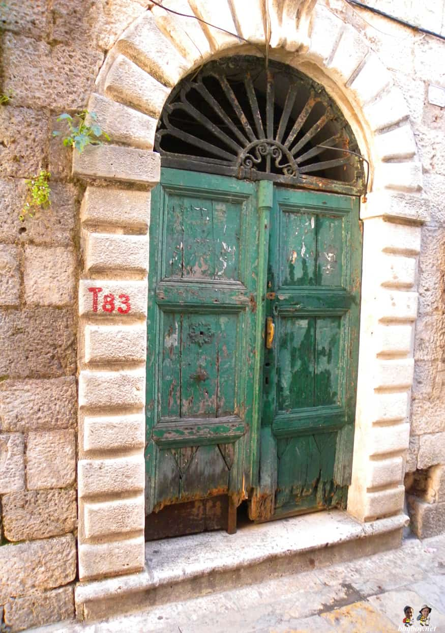 Door in Kotor