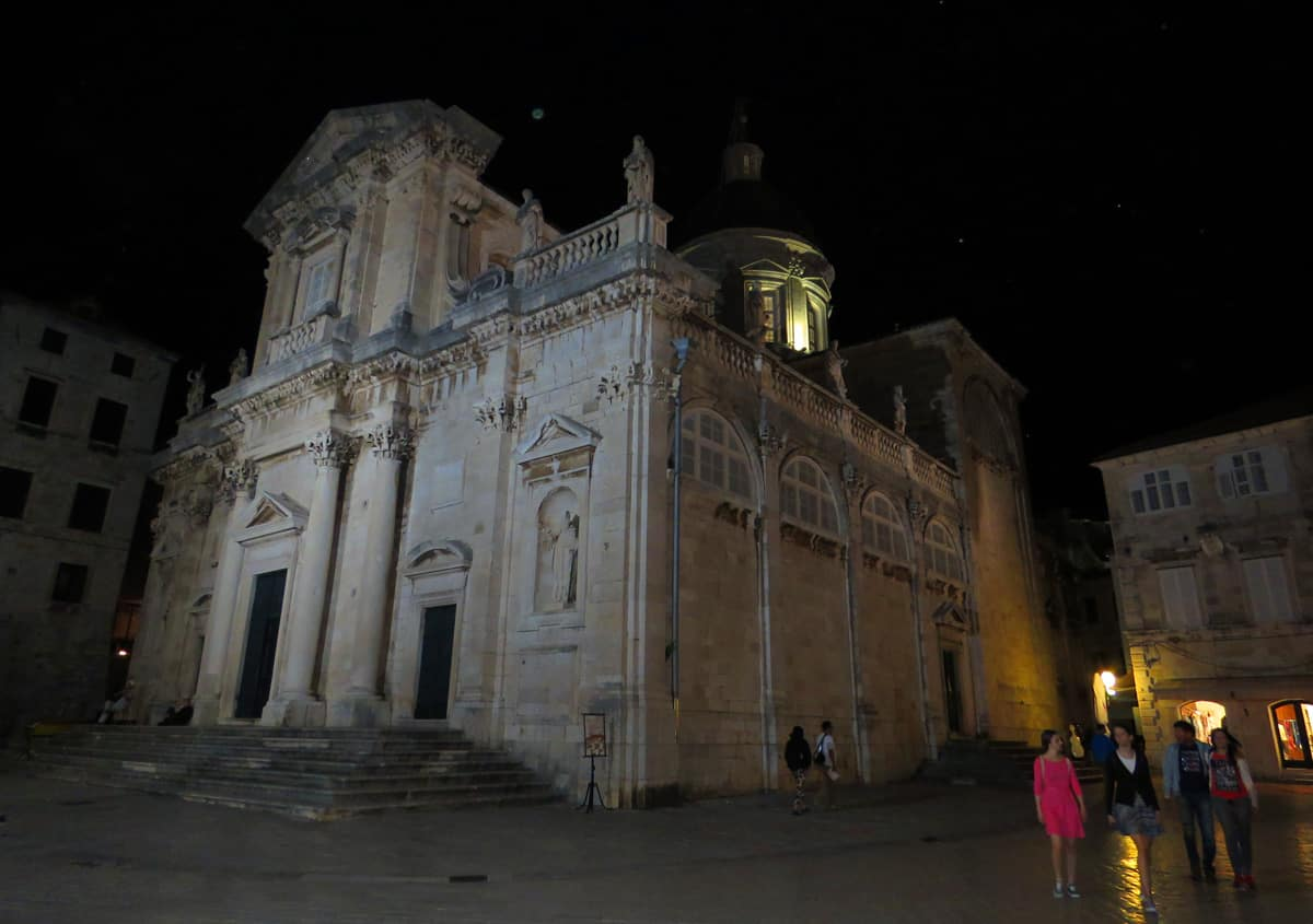 Dubrovnik Cathedral. Highlights and Lowlights of Dubrovnik