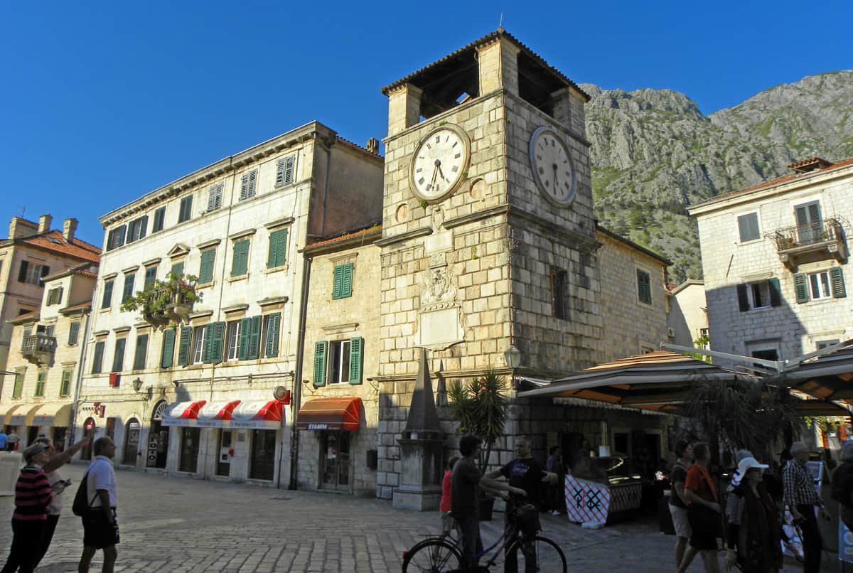 bell tower. Why Kotor (Montenegro) impressed us more than Dubrovnik
