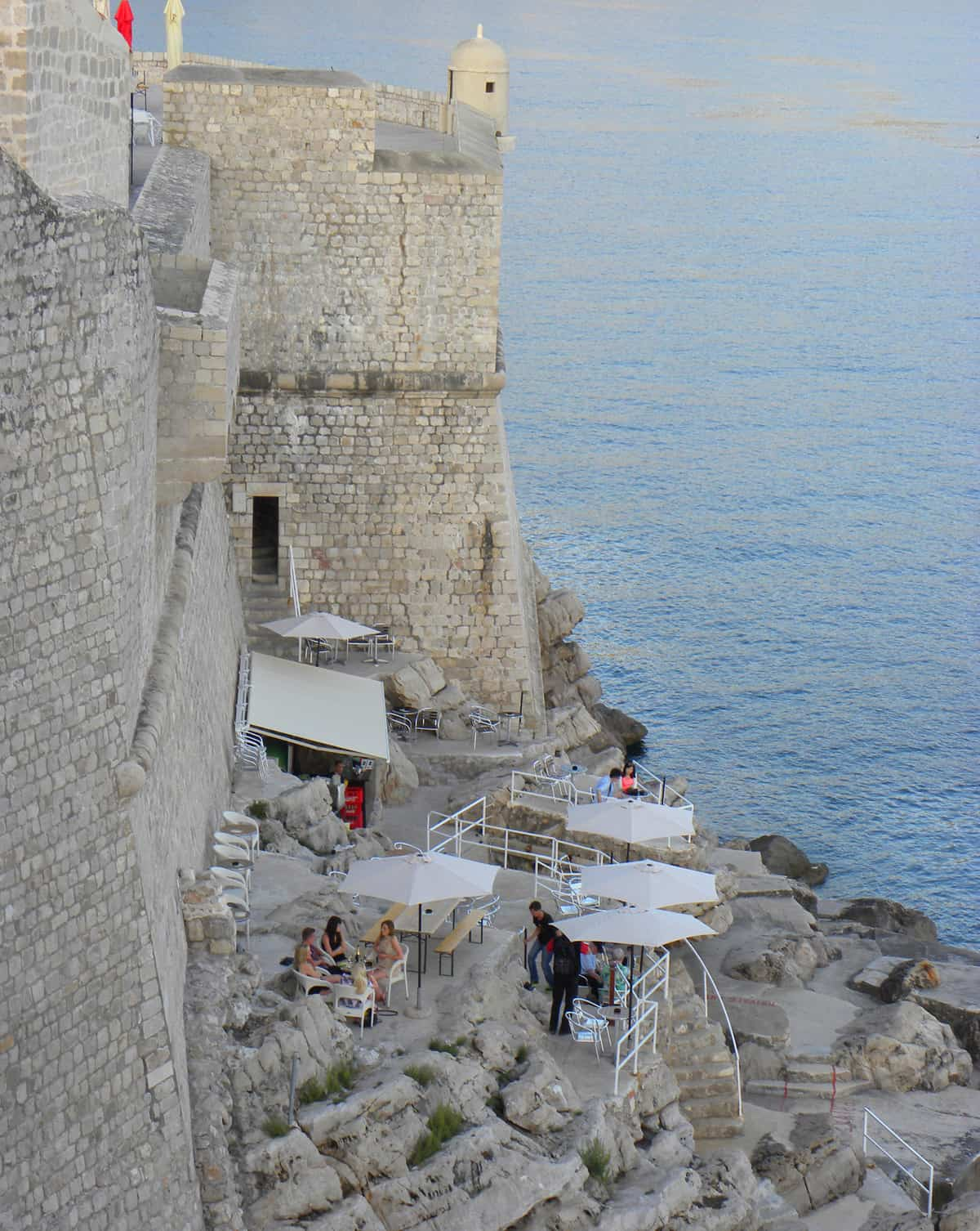 Views of Dubrovnik from the city walls. Highlights and Lowlights of Dubrovnik