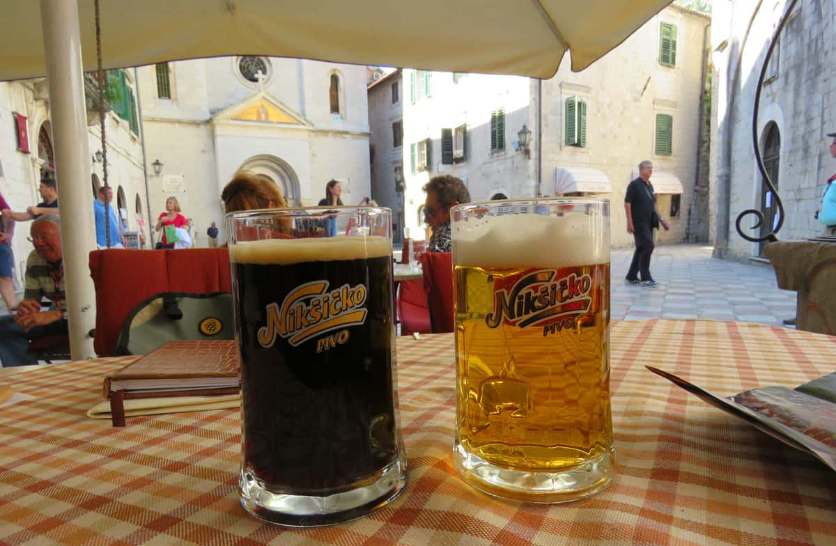 where to have a beer in Kotor, Montenegro