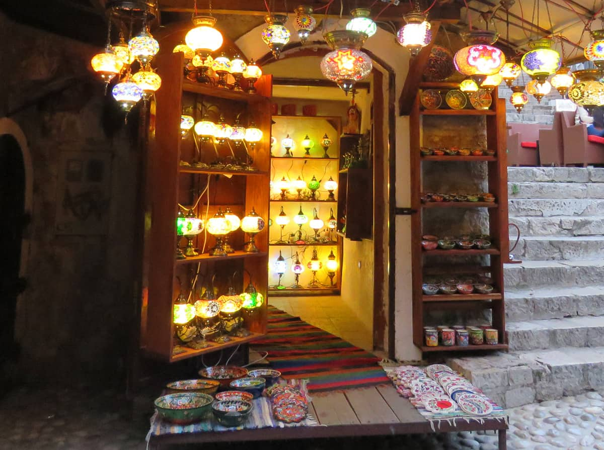 lamp shop. Why you should visit Mostar, Bosnia and Herzegovina (and what to See and Do)