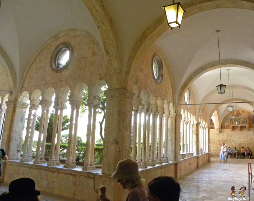 inside franciscan monastery
