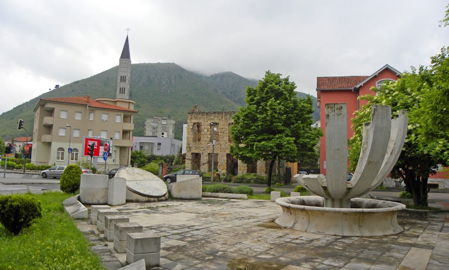 monument in Mostar