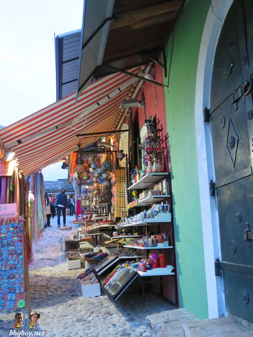 shop in the old town, Mostar