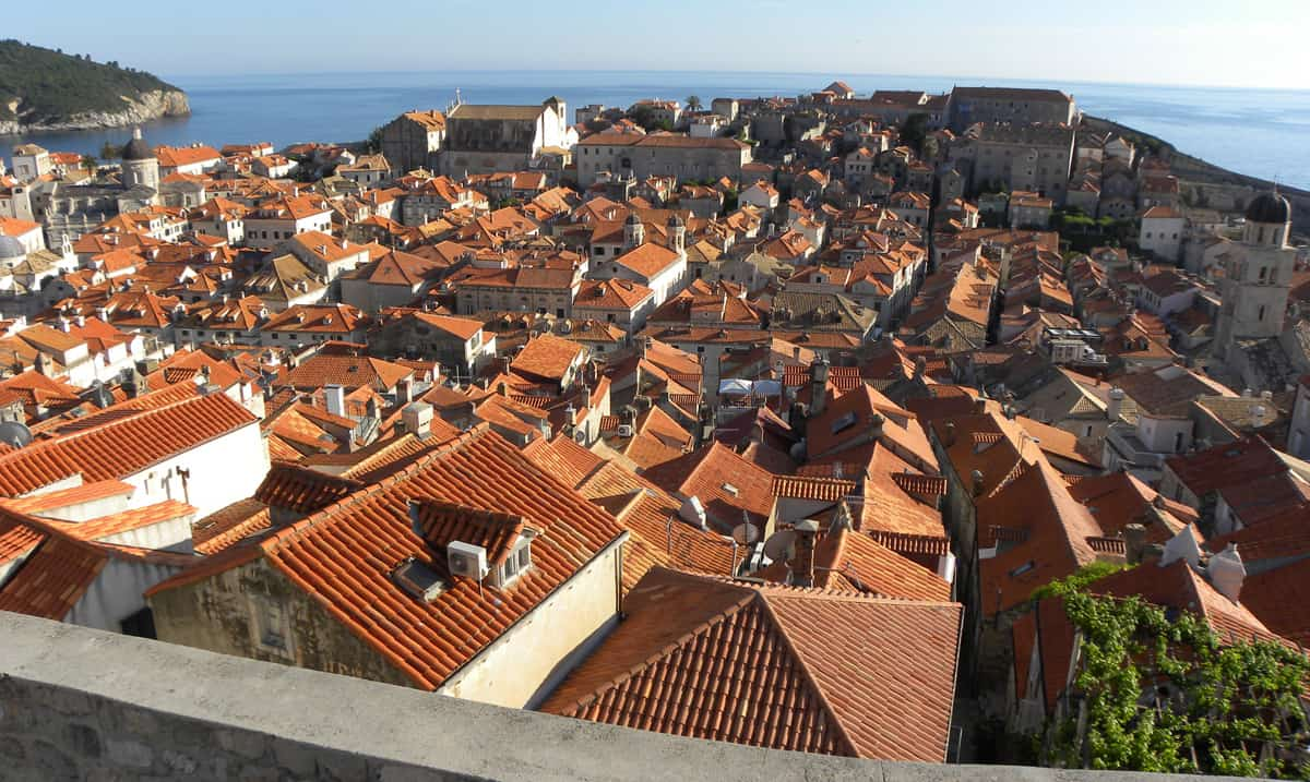 Walking the city walls. Highlights and Lowlights of Dubrovnik