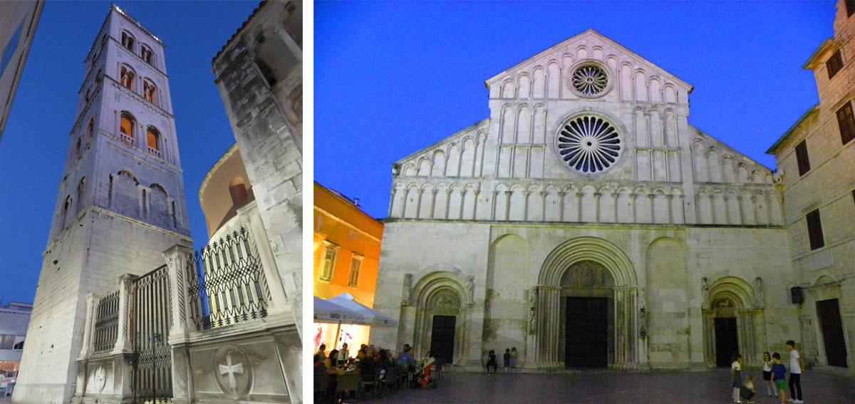St. Anastasia Cathedral and bell tower, Zadar, Croatia