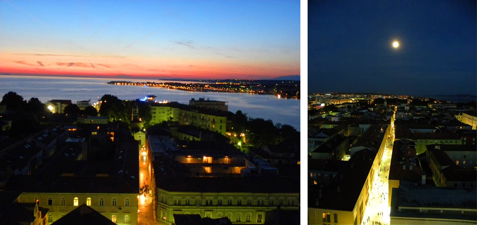 Views from the bell tower. Why go to Zadar? Here's why it's worth a (short) visit