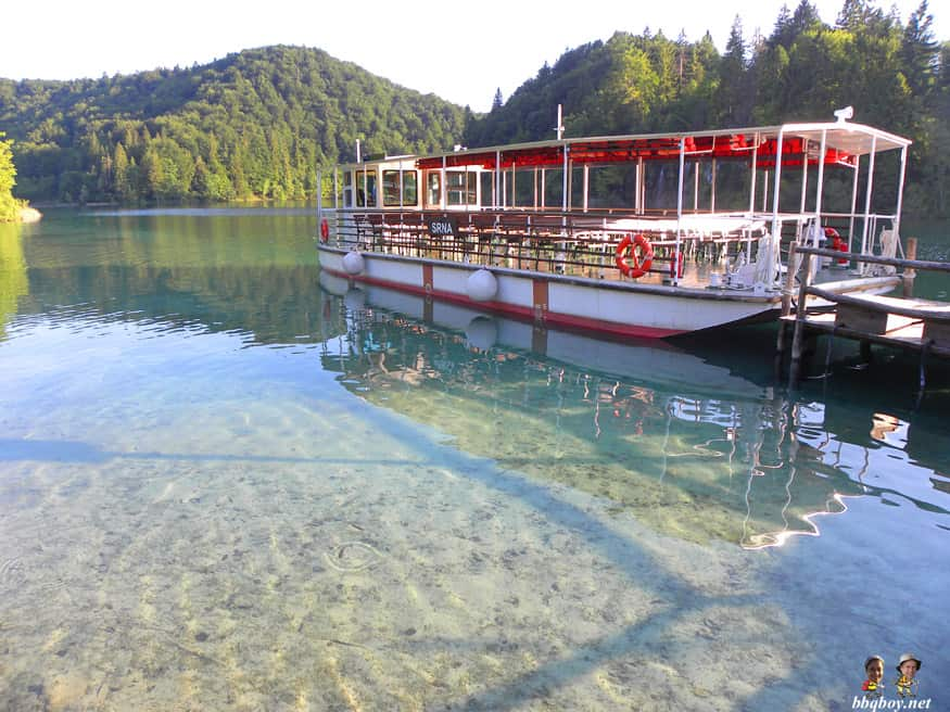 ferry at P1, Plitvice  Lakes, Croatia
