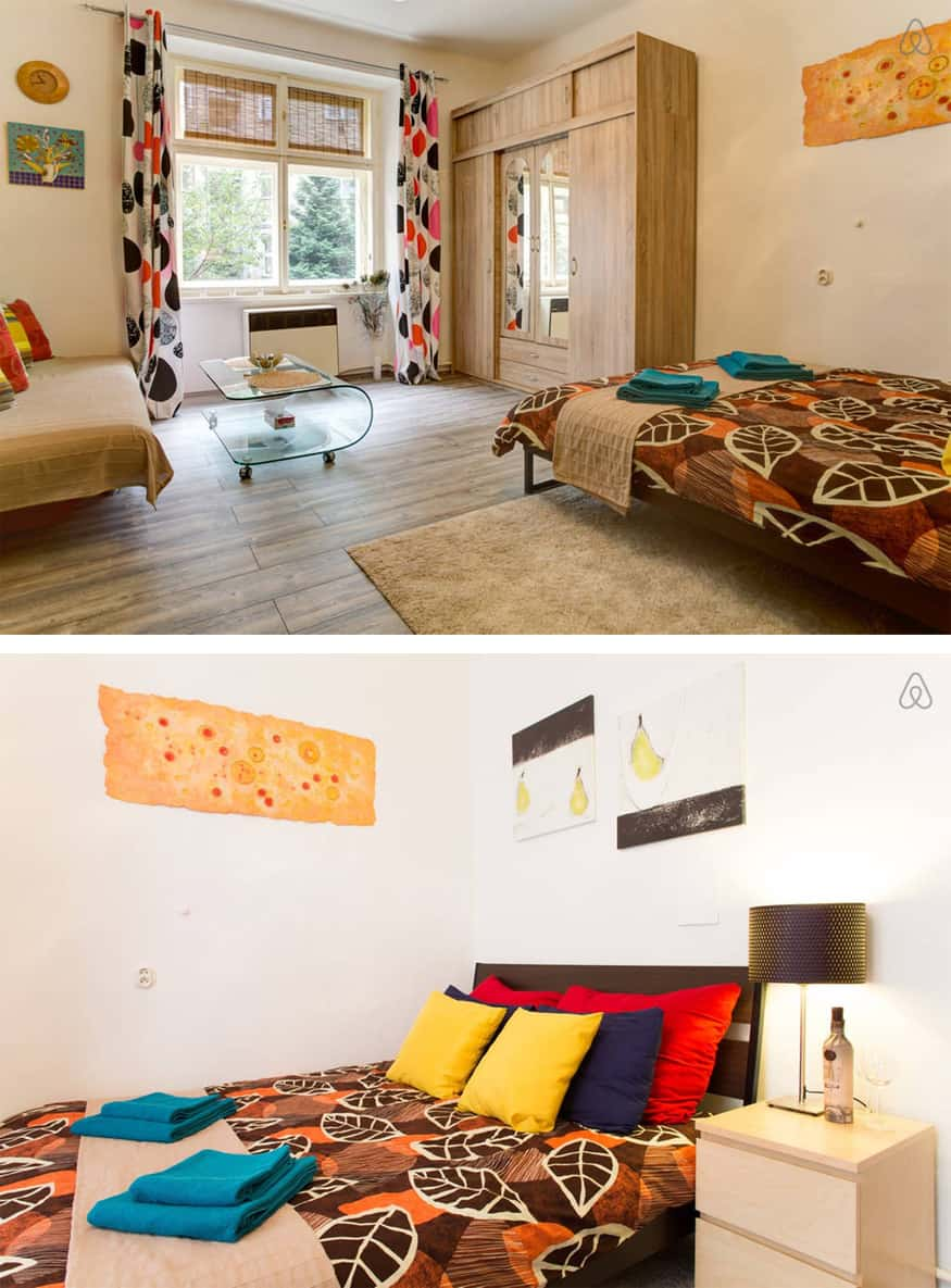 Prague. A year of Airbnb apartments