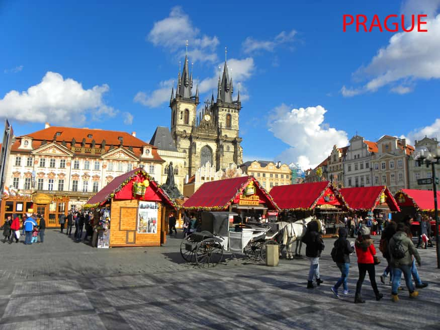 Prague at Easter.